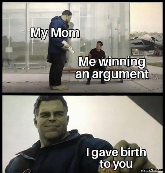 Argument meme